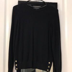 Ann Taylor black sweater
